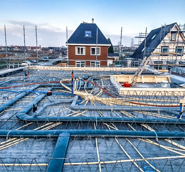 Fase 1 nieuwbouw villa Nieuwerkerk aan de IJssel